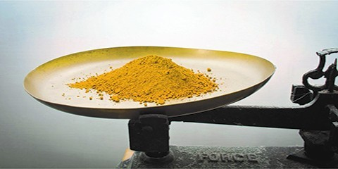 Pigments naturels en poudre