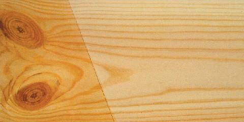 Heldere kleur van hout bewaren