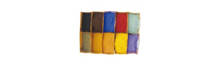 Pâtes pigmentaires naturelles
